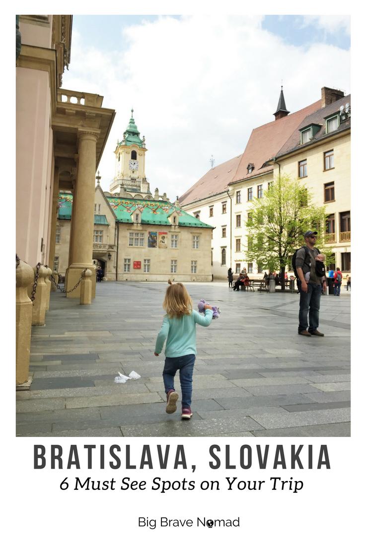 Bratislava pin for pinterest