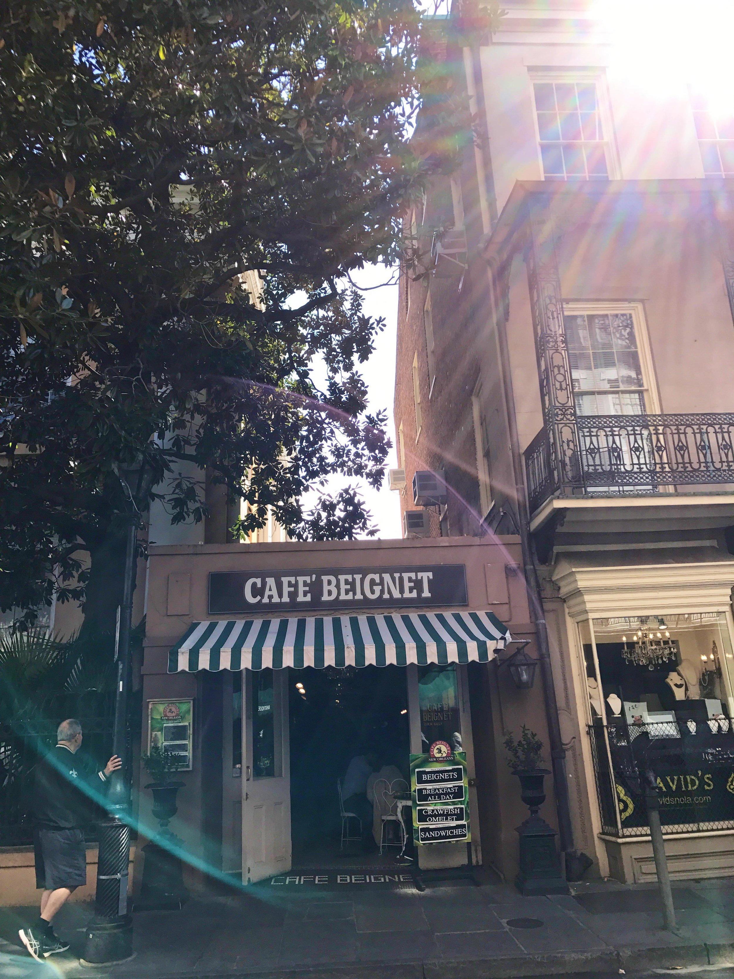 The Royal Street Cafe Beignet