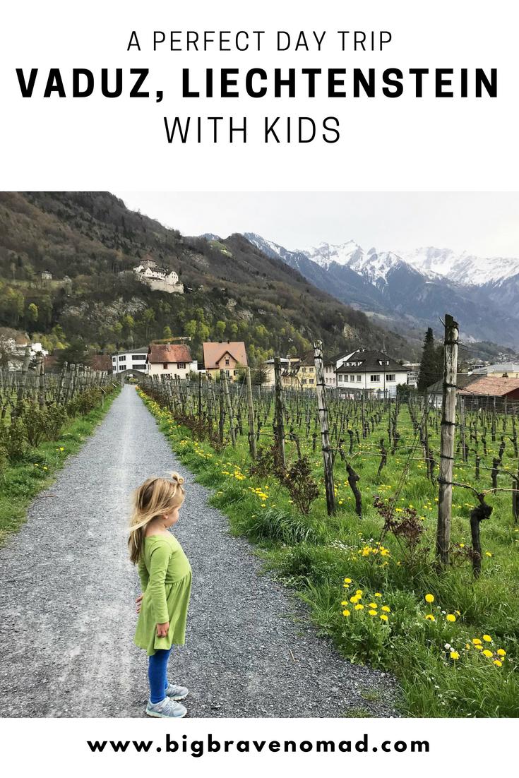 Pinterest graphic for Liechtenstein