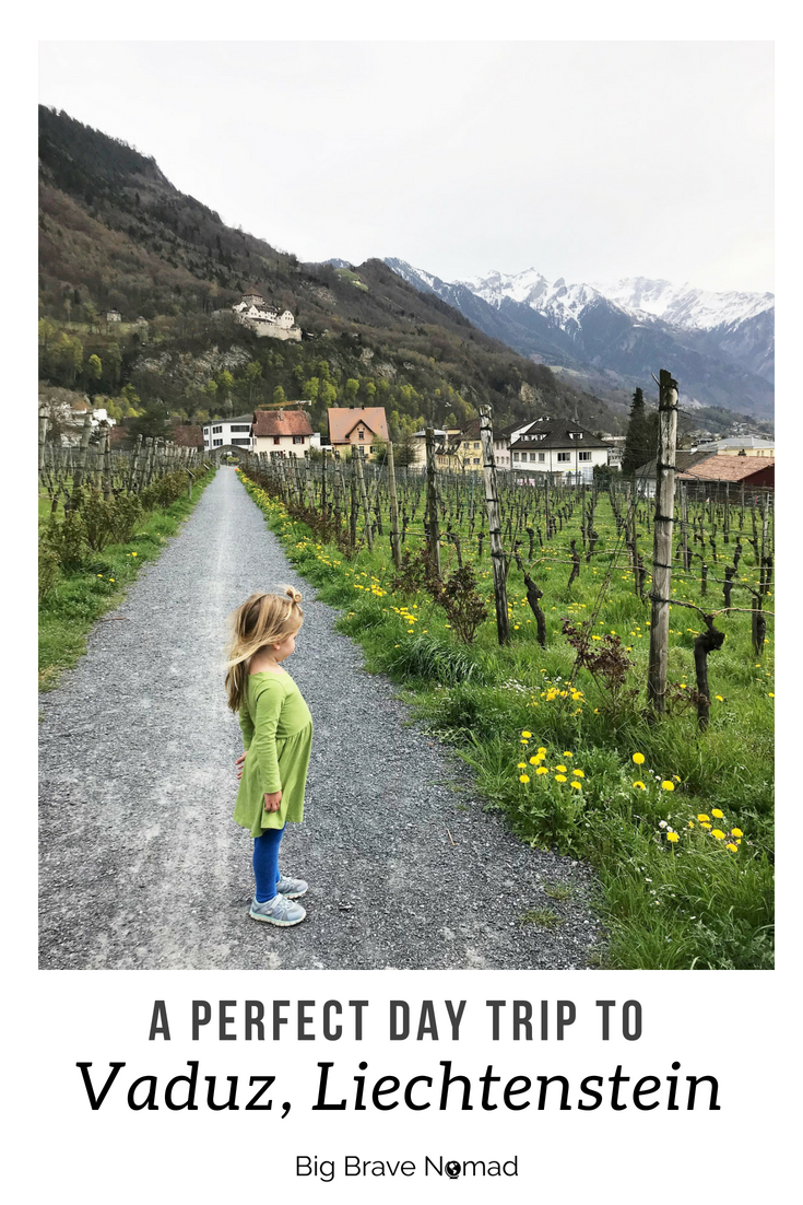 Vaduz, Liechtenstein with Kids #BigBraveNomad #Liechtenstein #FamilyTravel #Vaduz