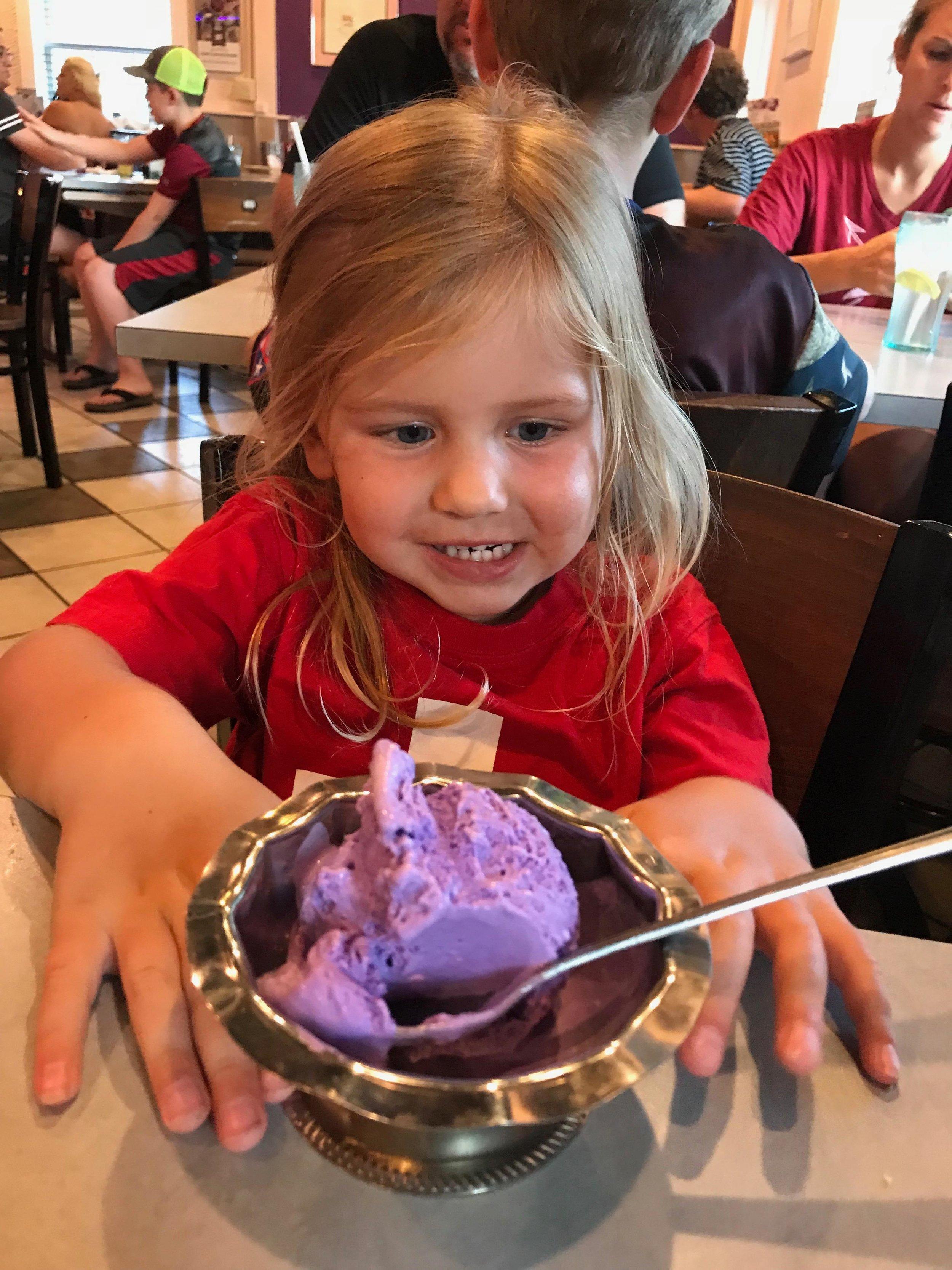 When Purple & Ice Cream are life