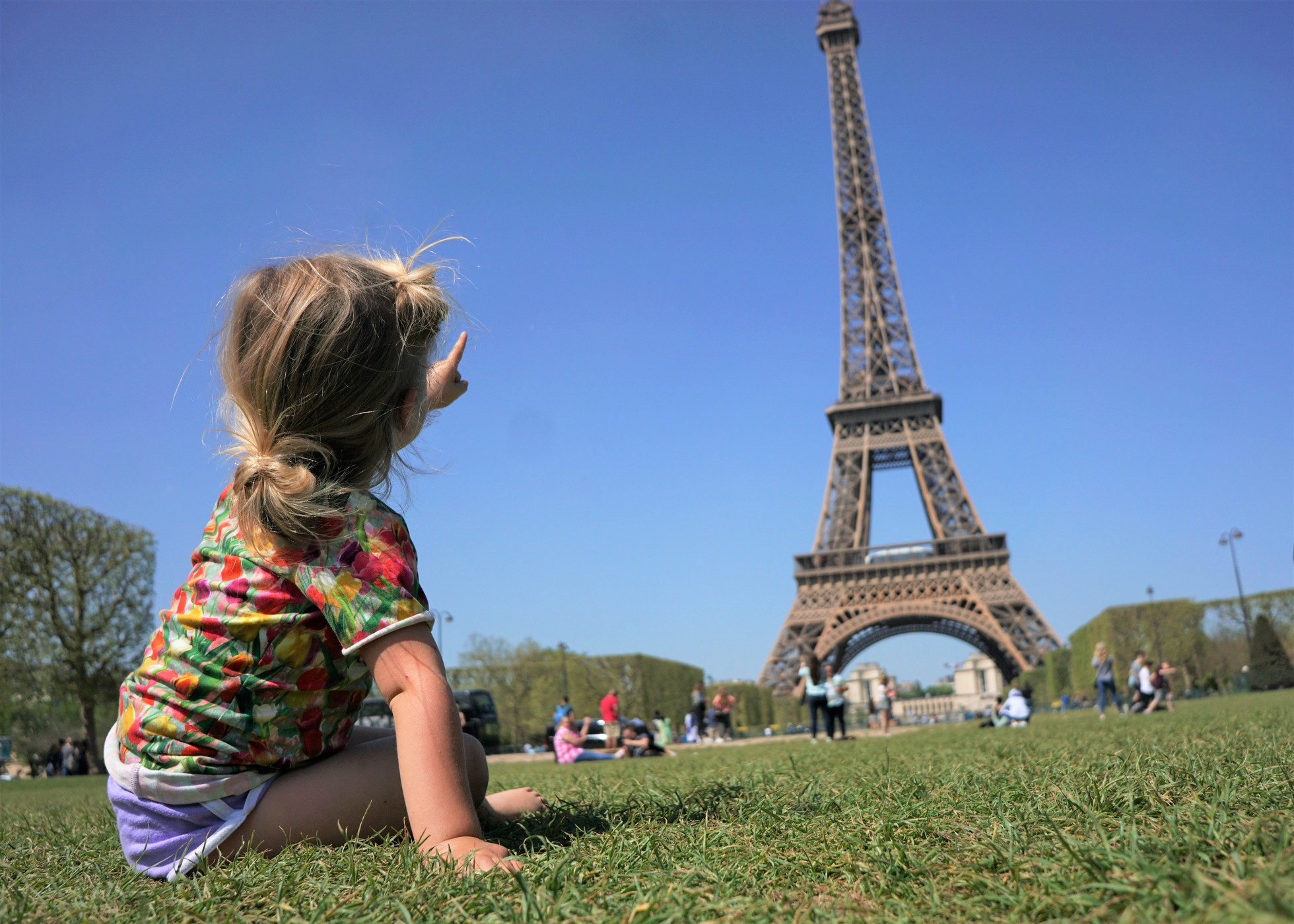 C and the her favorite place on earth; Paris, France