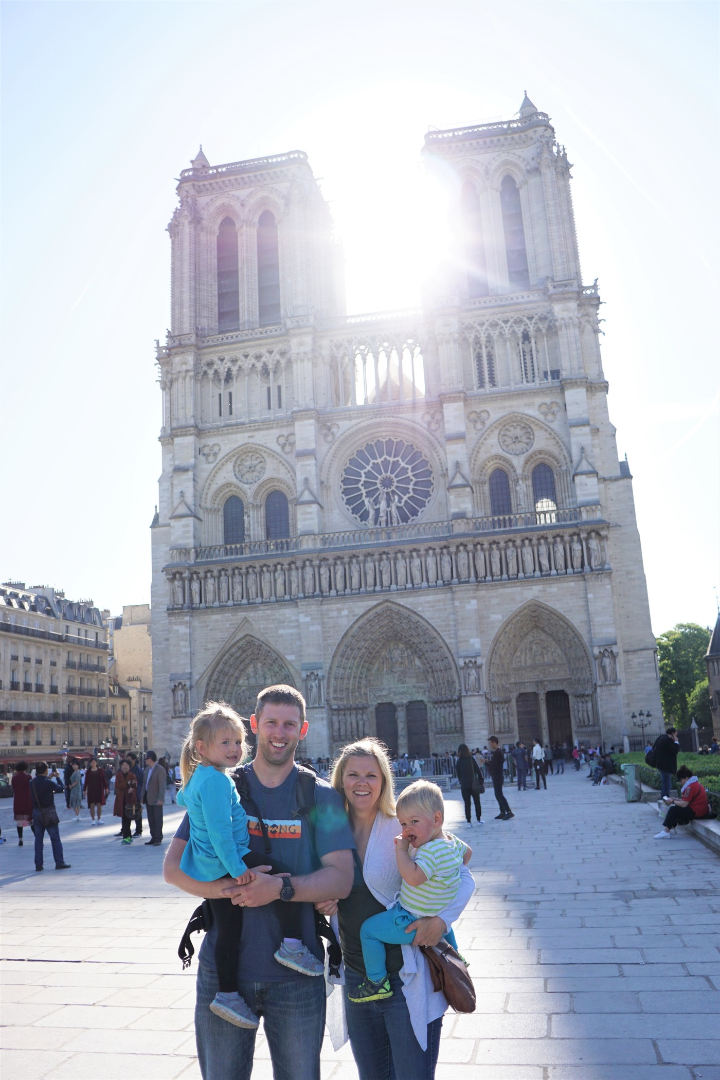 Notre DamE is a MUST for families in Paris