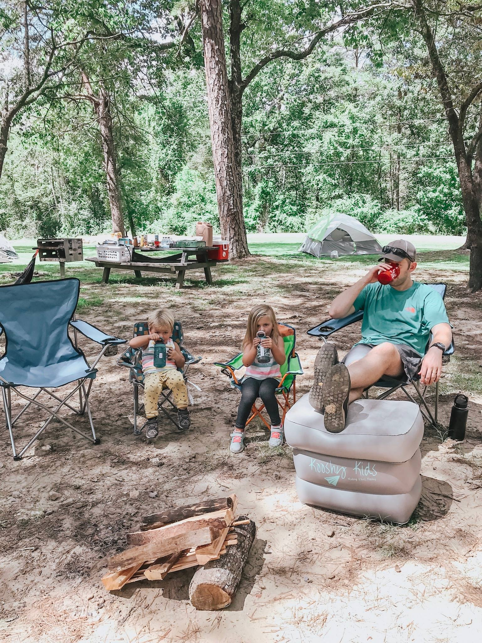 How to ENJOY Tent Camping with Toddlers — Big Brave Nomad