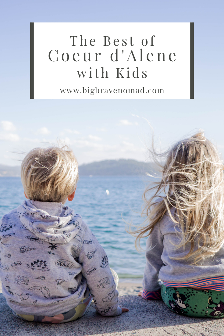 Coeur d'Alene, Idaho is one of the most family friendly destinations we have visited this year. From kid friendly restaurants to large playgrounds and easy hiking; there is truly something for all ages. #idaho #familytravel