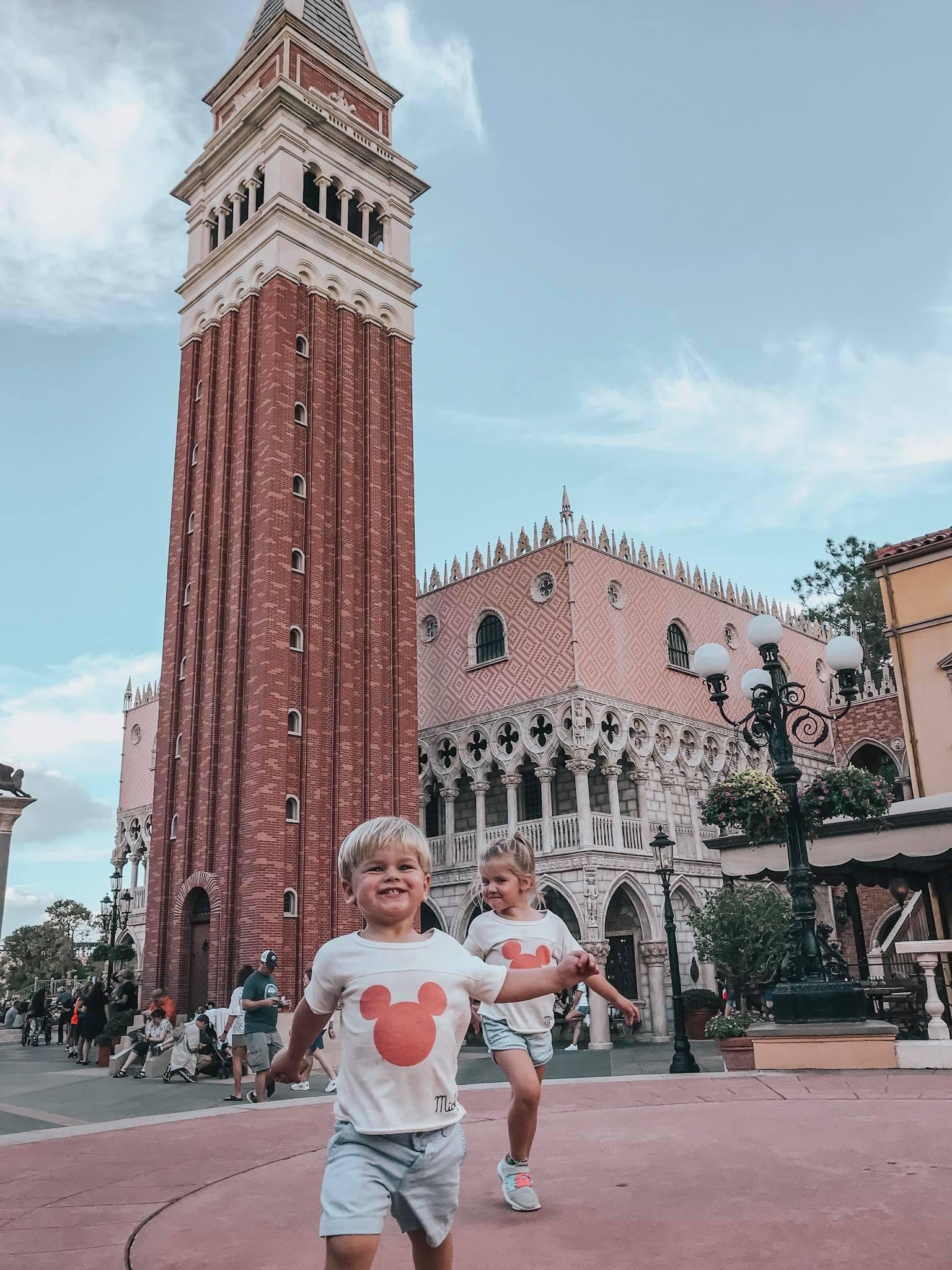 Epcot'S Italy