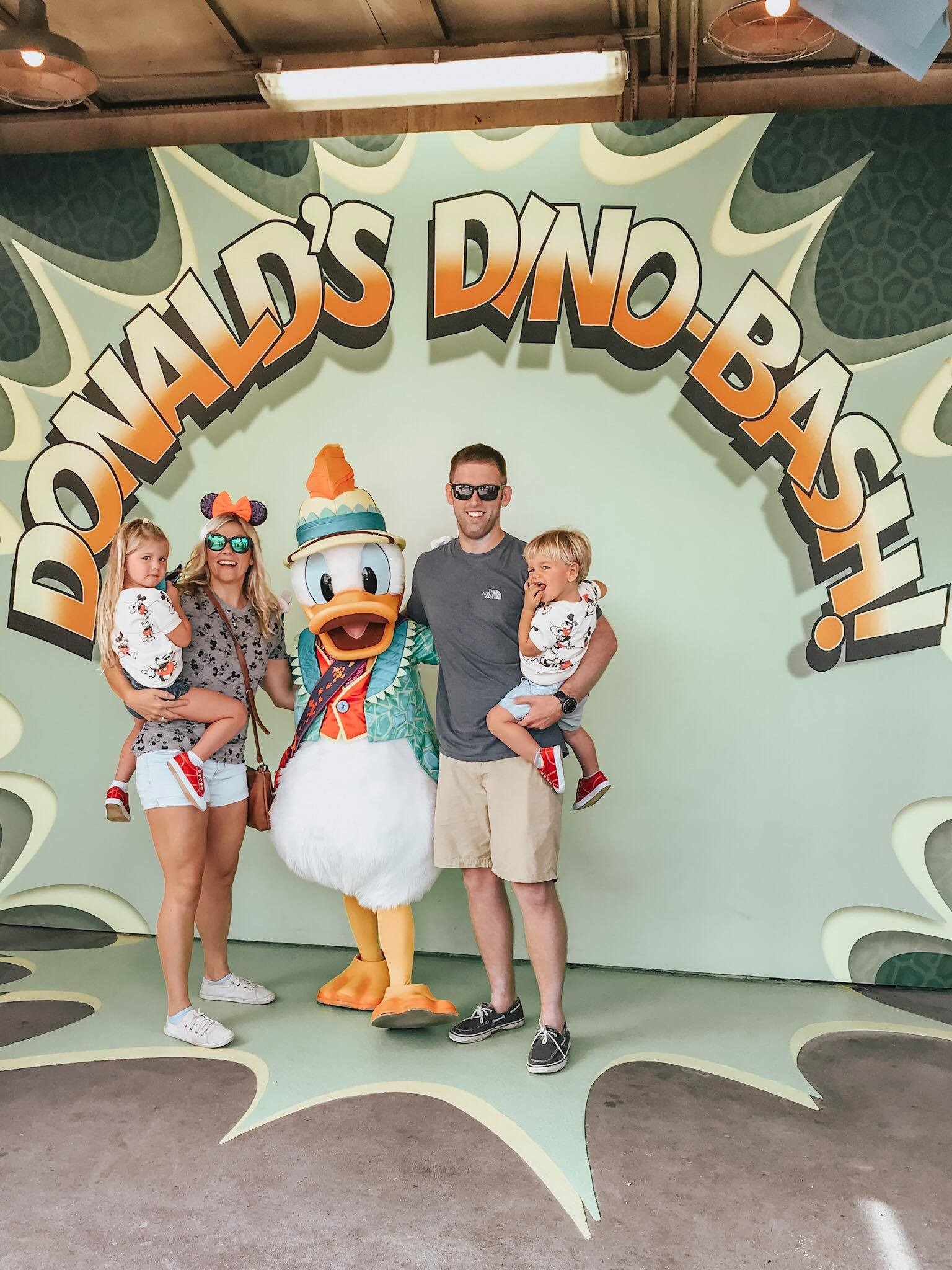 Donald duck in Animal kingdom!