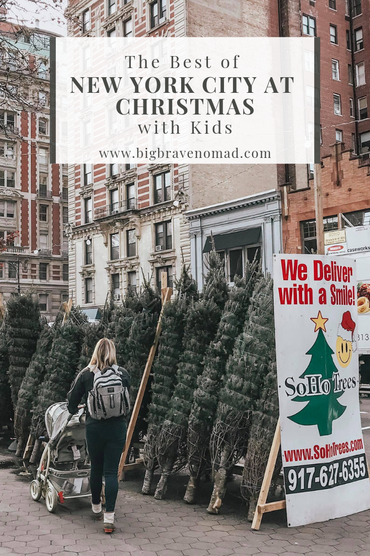 New York City is an amazing destination for families at Christmas time. From window shopping, to light shows, and toy stores there is something for everyone. Babies, Toddlers and Big Kids will love the magic of NYC at Christmas. #NewYorkCity #ChristmasinNewYorkCity #FamilyTravel