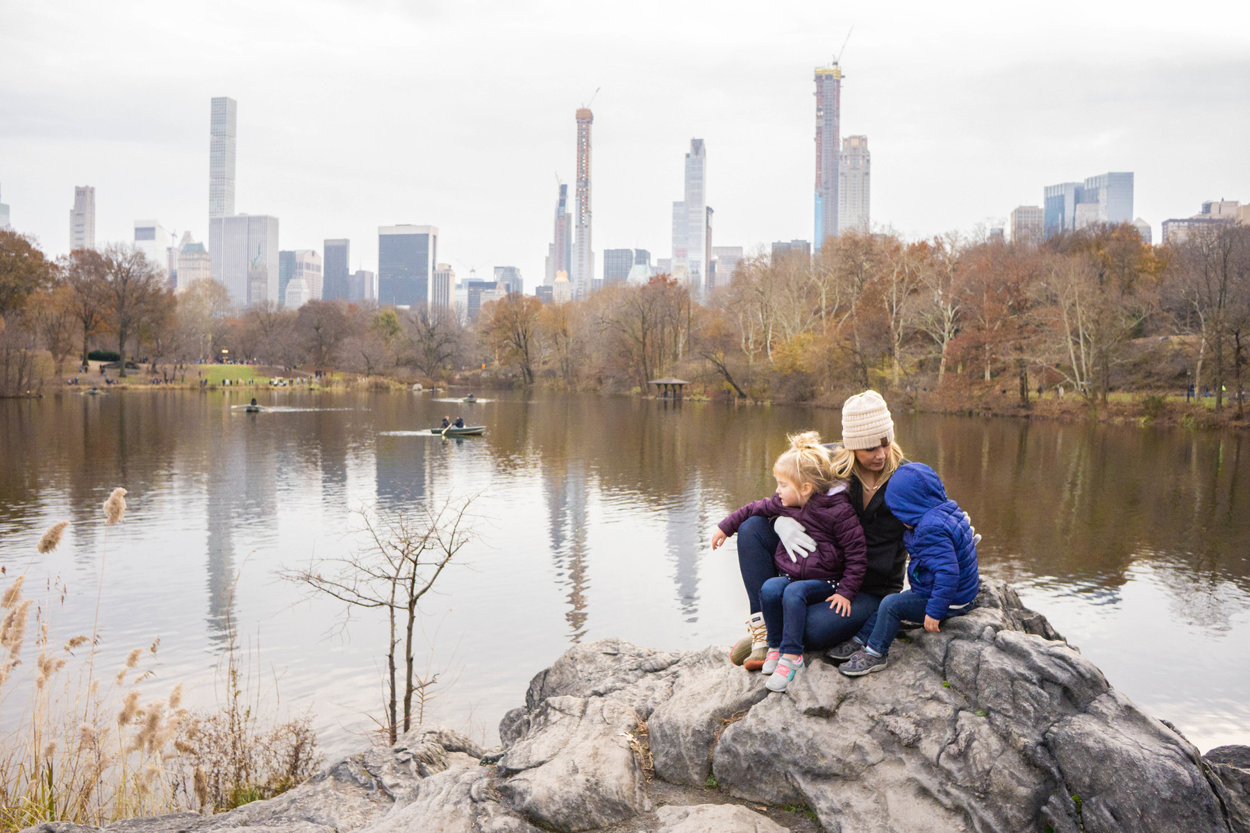 Central Park with Kids is an absolute must! The views, the atmosphere and the endless running for the kids!!
