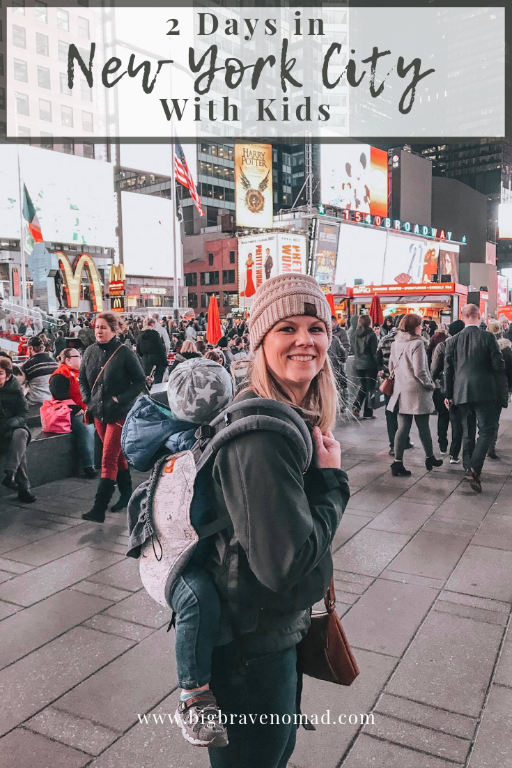 New York City has so much to offer Family Travelers. Whether you are bringing a baby, a toddler or a teenager, you will not be dissapointed. #familytravel #bigbravenomad #newyorkcity