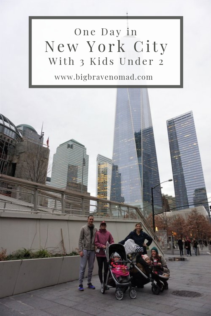 In 2016 I did a day trip from New Jersey to New York City. I brought along my toddler, infant, 2 friends and their toddler. We spent the day exploring lower manhattan and seeing nyc at christmas. with just one day we were able to fit in a ton of highlights. read more to see our tips on navigating the subway with a double stroller! #newyorkcity #familytravel