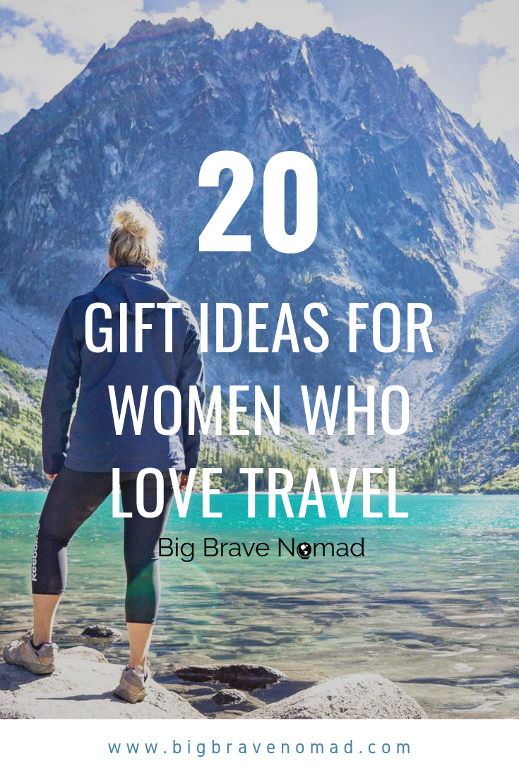 Do you ave a travel lover in your life? I've put together a list of 16 affordable travel gifts that are perfect for every woman wanderlust you know. From weekend getaway to their first trip around the world, this list is going to help make her travel easier, lighter and more enjoyable. #mothersday #travellover #travelgiftguide
