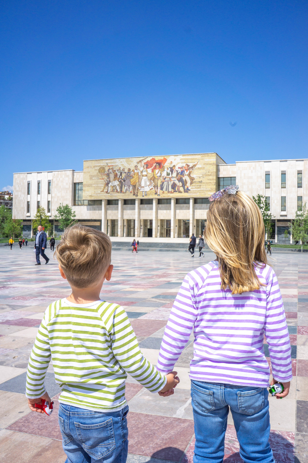 The National Musuem of History in Skanderbeg Square