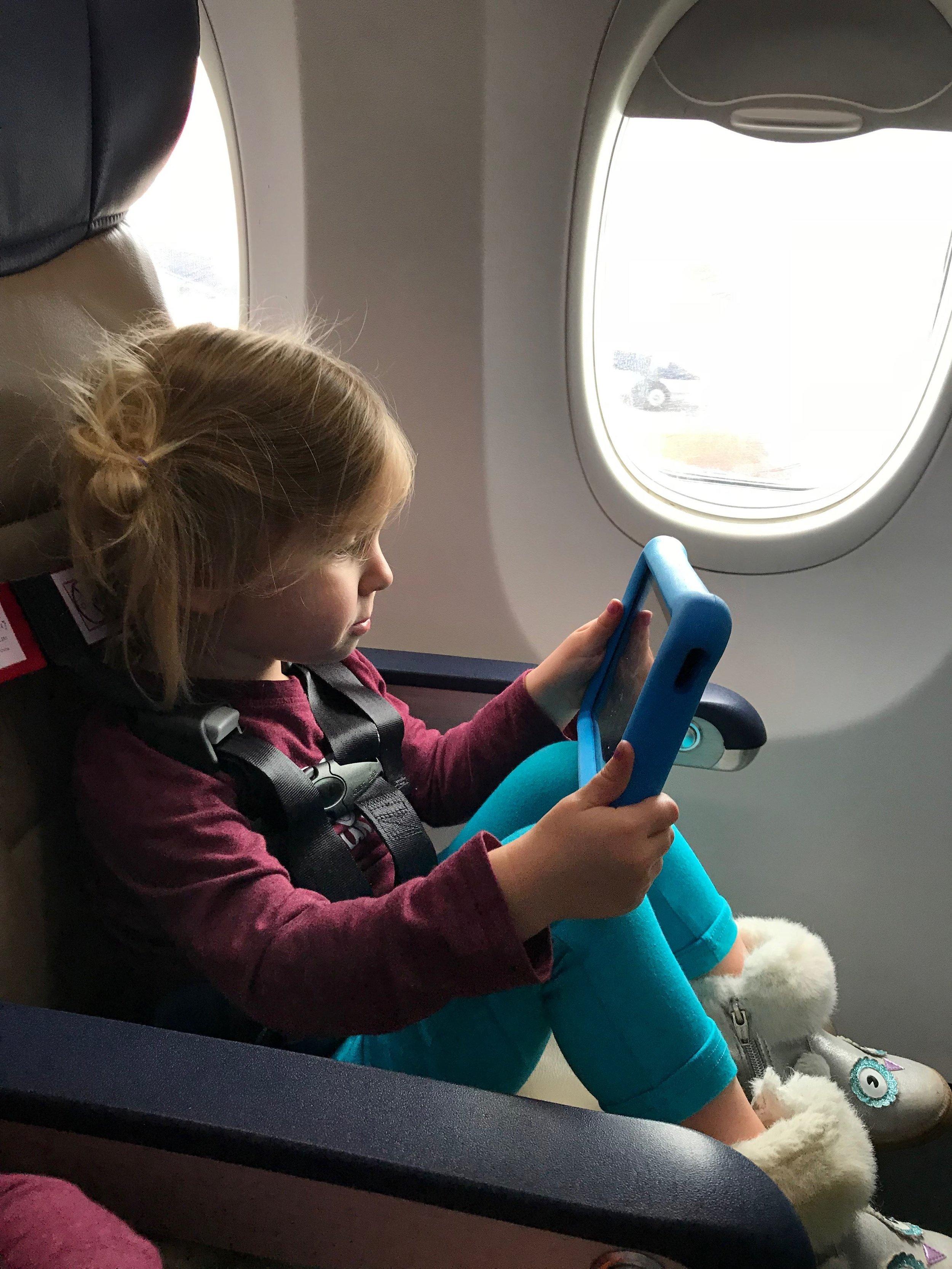 Long Haul Flights with Kids