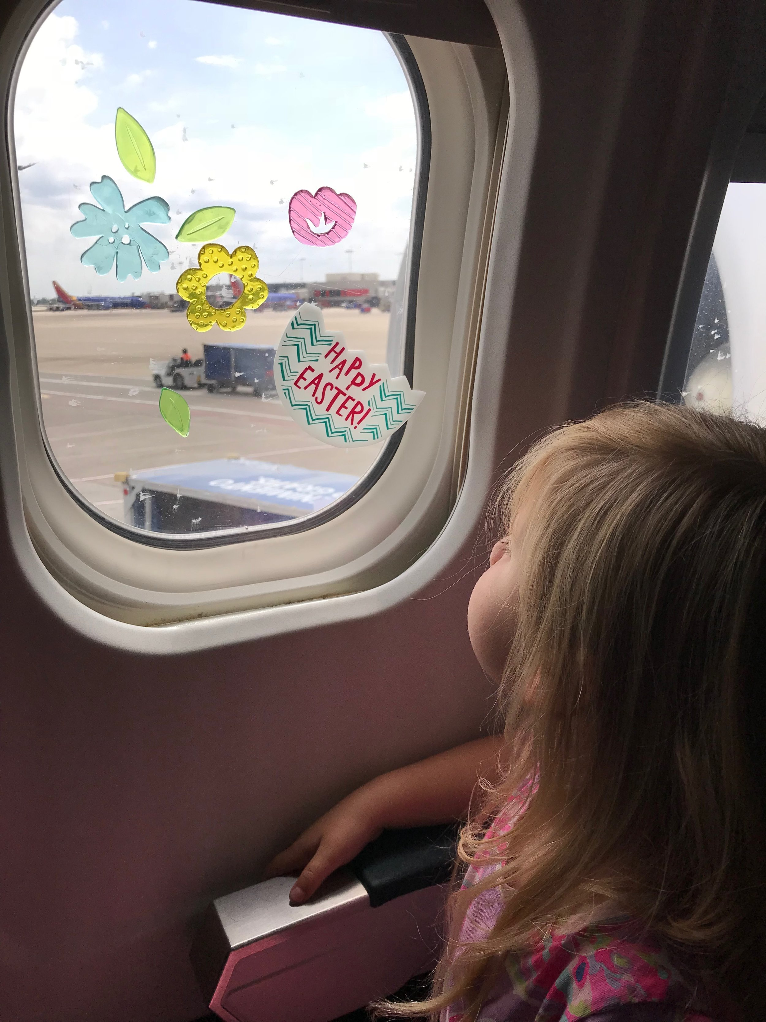 My kids are obsessed with window clings. They are a really fun and cheap way to entertain little ones.