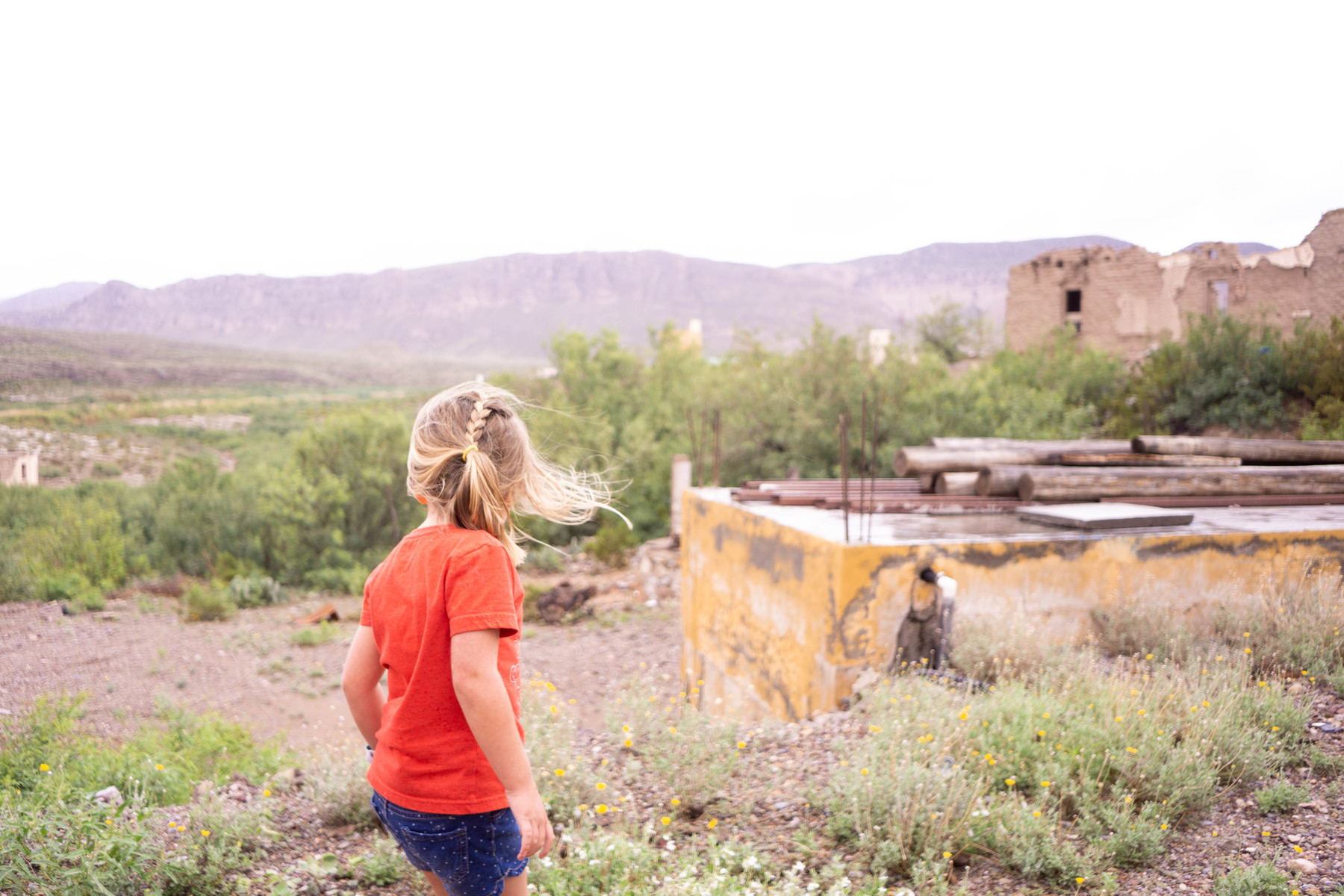 Charletta exploring the small town of Boquillas, Mexico