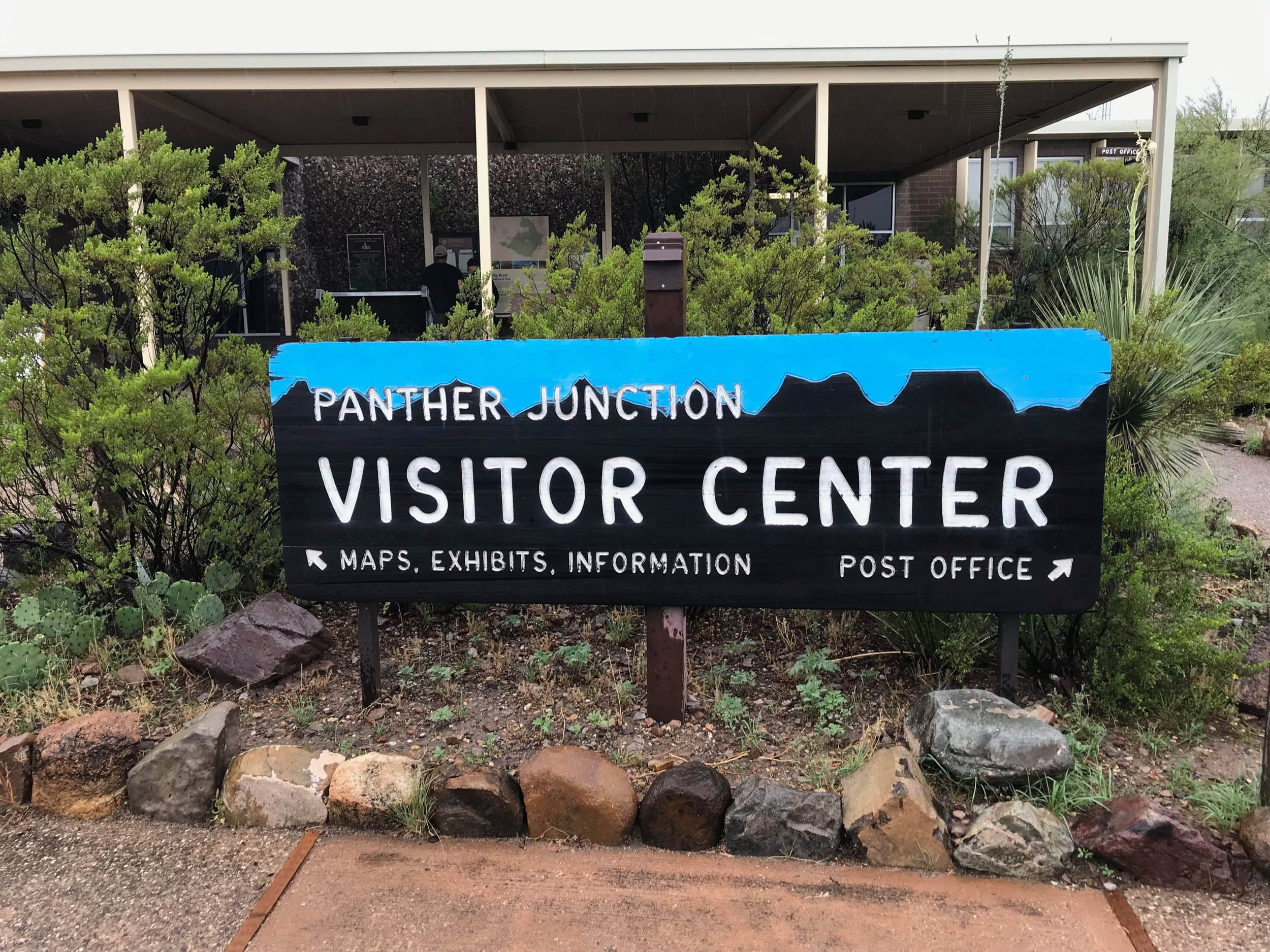 Pantther Junction Visitor Center is the only Visitor Center open all year.