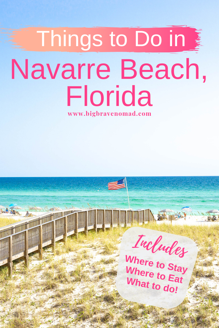 """Things to do in Navarre beach Florida! This includes Everything you need to know for a relaxing trip to Navarre Beach in Florida. Includes Navarre Beach dining options, what do in Navarre, the best place to stay in Navarre and the best place to stay in Navarre Beach. Known as """"Florida's Most Relaxing Place"""" you don't want to miss a vacation in Navarre, Florida. #navarrebeach"""
