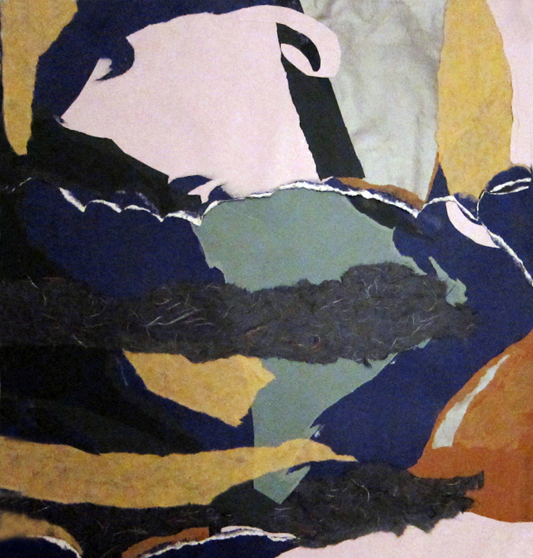 SEA CHANGE- collage-31 x 28.25- 2011
