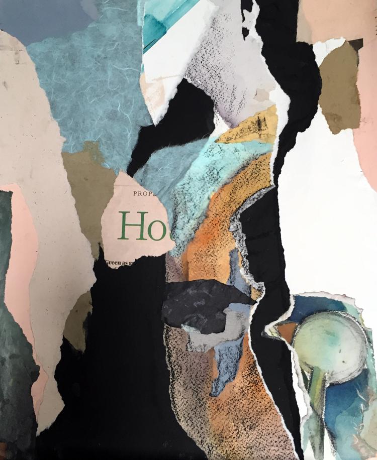 HO- mixed media collage- 16 x 13- 2016