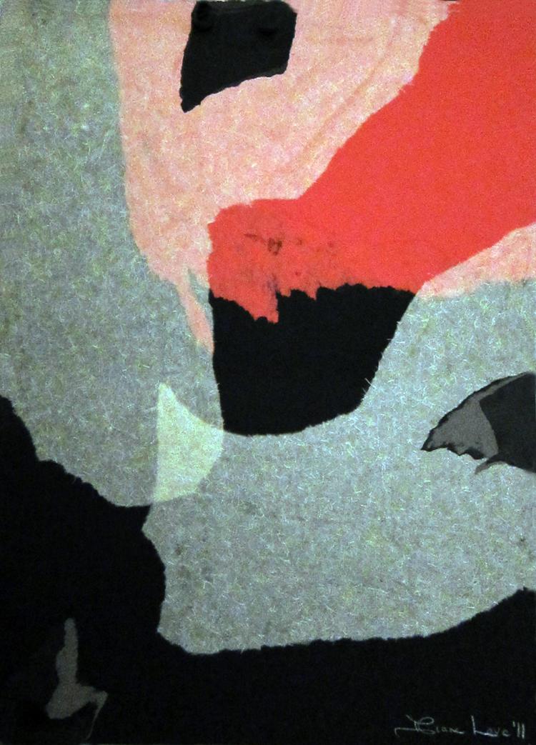 ERUPTION- collage- 30 x 22- 2011