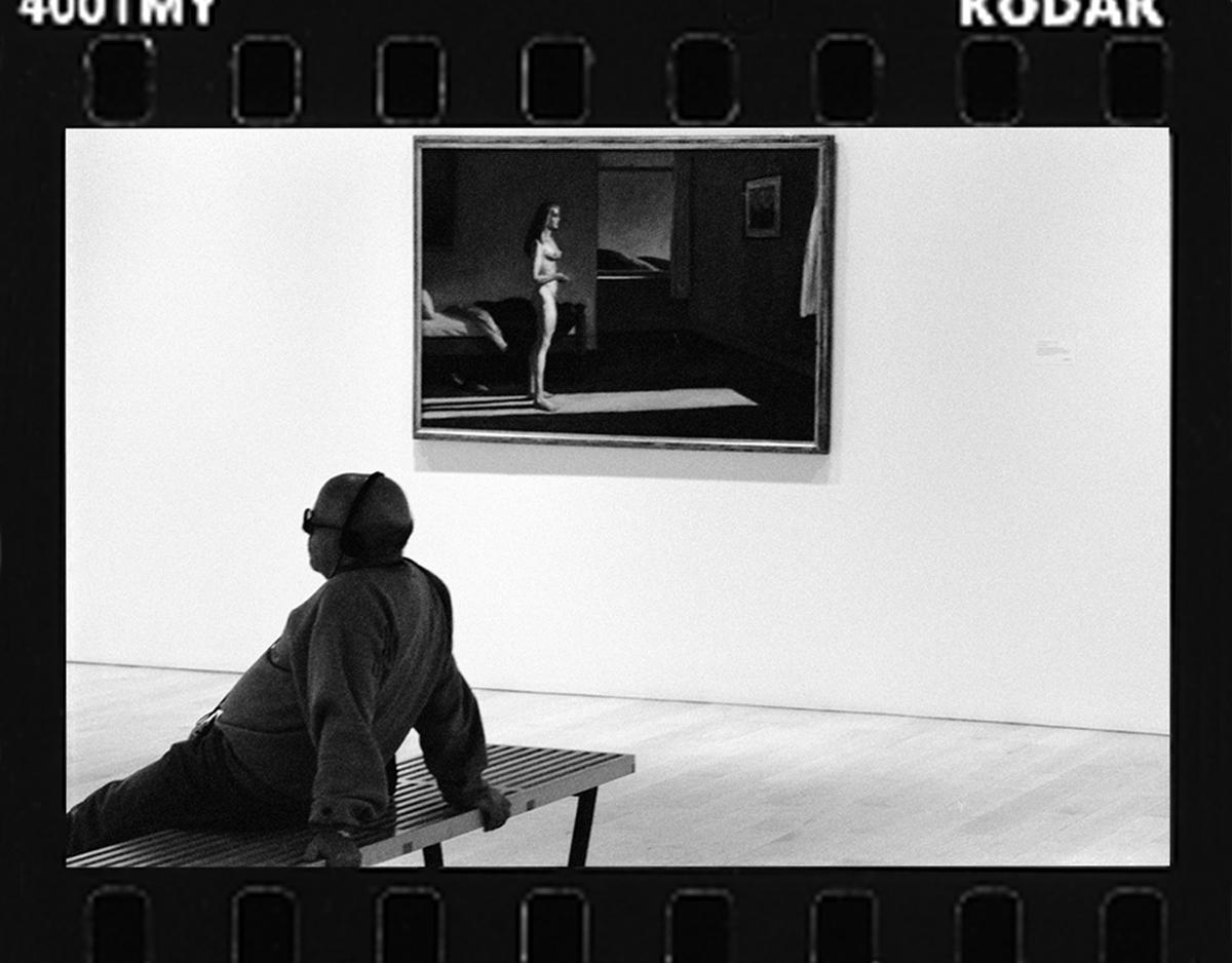 SOAKING IT IN - WHITNEY MUSEUM-2006