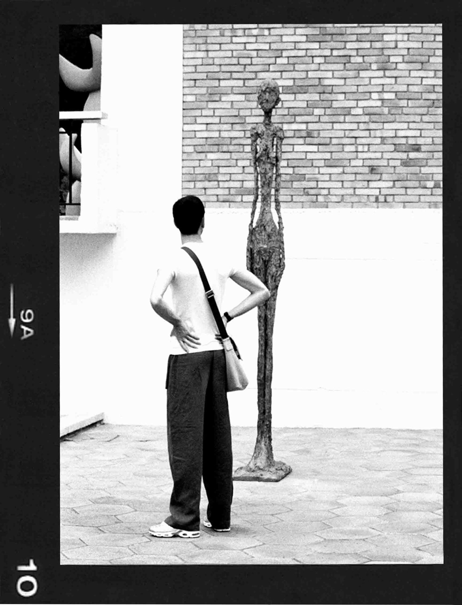 SLIM MAN- FONDATION MAEGHT- 2006