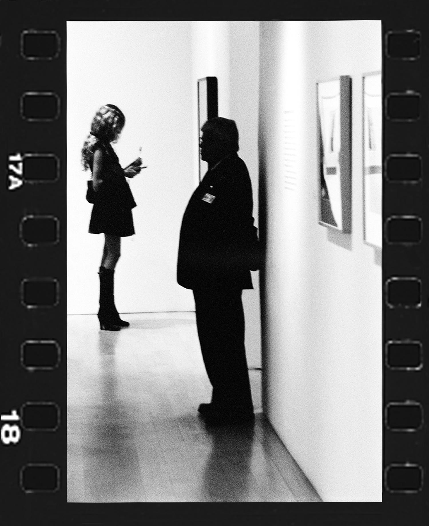 WHITNEY ON GUARD-WHITNEY MUSEUM- 2007
