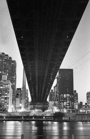 UNDERBELLY, 59TH ST. BRIDGE- 2002
