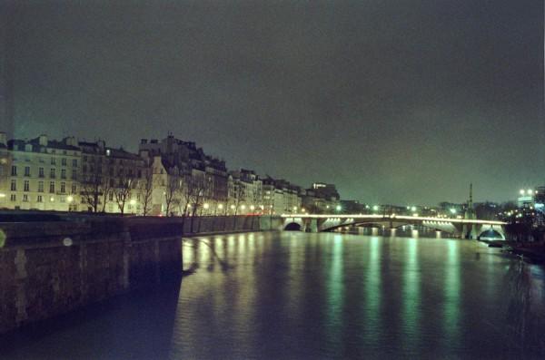 RIVER SEINE HIGH WATER- 2008