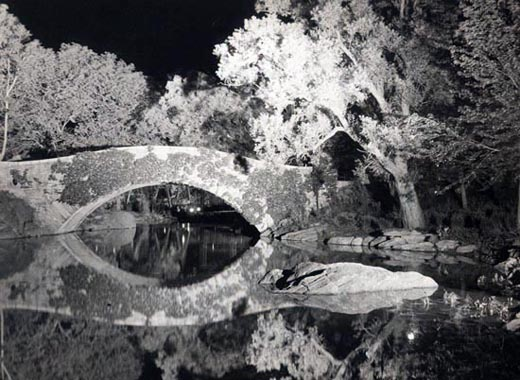 NIGHT BRIDGE- CENTRAL PARK- 2002-