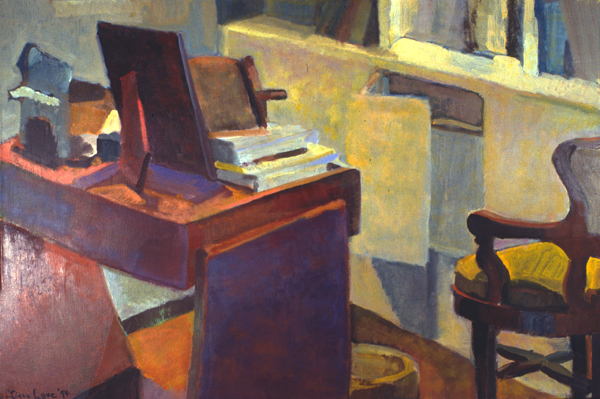 CONVERSATION- oil on canvas- 30x 40- 1994