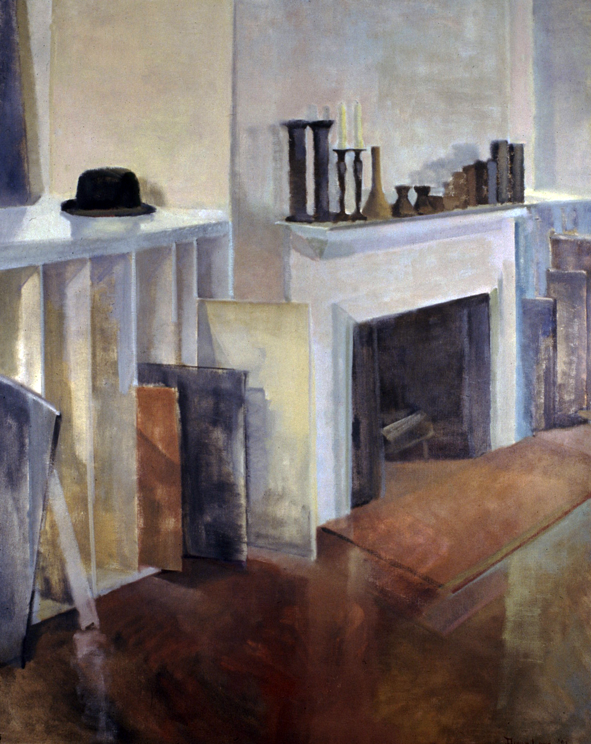 FRENCH IMPRESSION- oil on canvas- 60 x 48- 1992