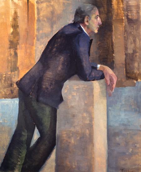 THE ITALIAN- oil on canvas- 48 x 40- 1992