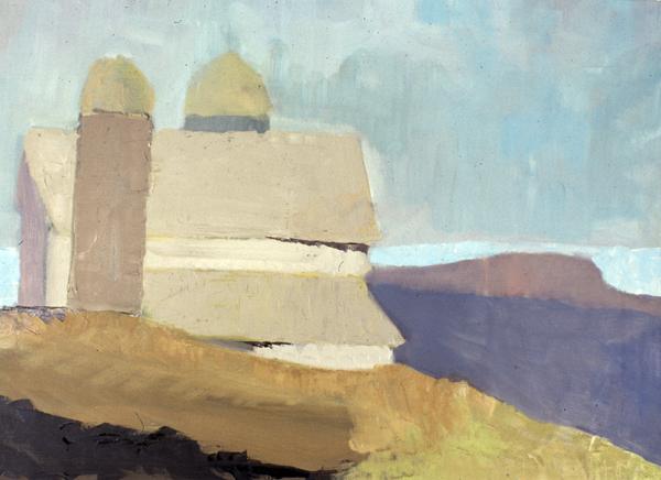 DARK DAY- oil on canvas- 18 x 24- 1990