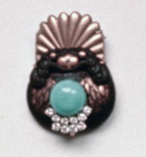 #70 JAPANESE NETSUKE_  turquoise, diamonds.jpg