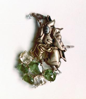 #59 SAMURAI KANEMONO peridots, Ceylon sapphires, diamonds copy.jpg