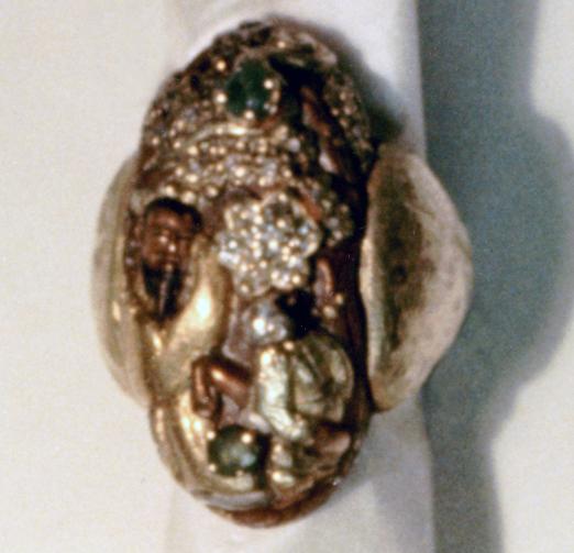 #137 JAPANESE KASHIRA RING diamonds, emeralds .jpg
