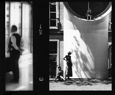 LOOKING BOTH WAYS- POMPIDOU, PARIS - 2008