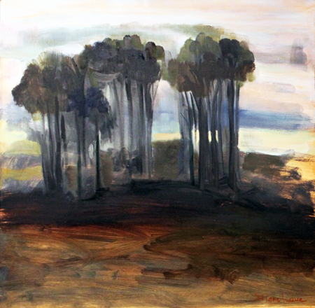 PULVER'S STAND *-oil on panel- 24 x 24-1990 by Diane Love  copy 2.jpg