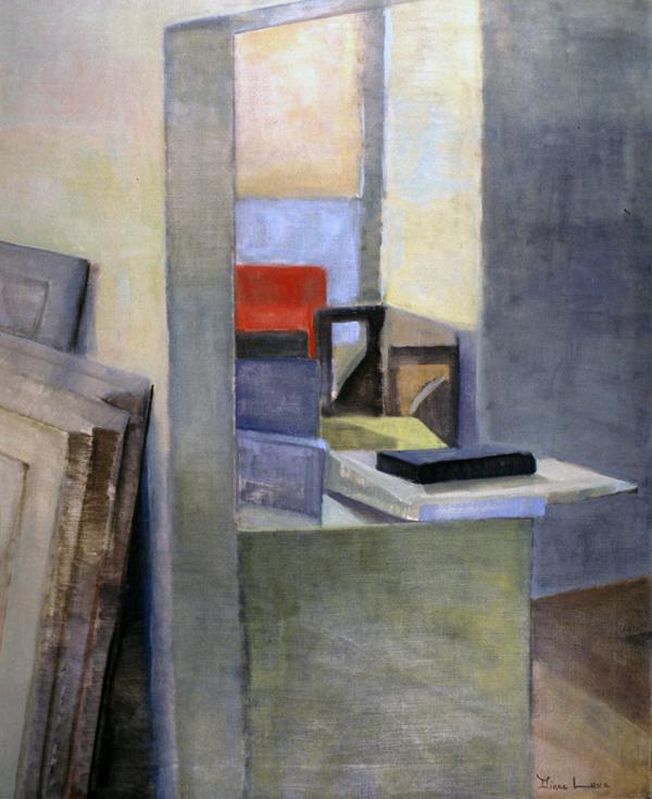 ENGINE COMPANY- oil on canvas- 48 x 40 - 1992
