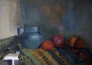 FAIRISLE-oil on canvas-18 x 24- 1989