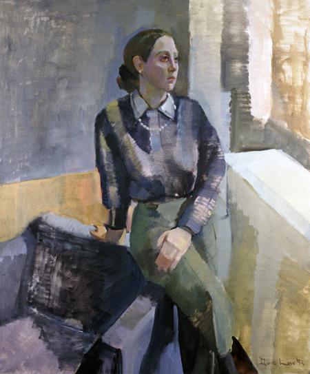 ABRA- 48 x 40 - oil on canvas- 1992