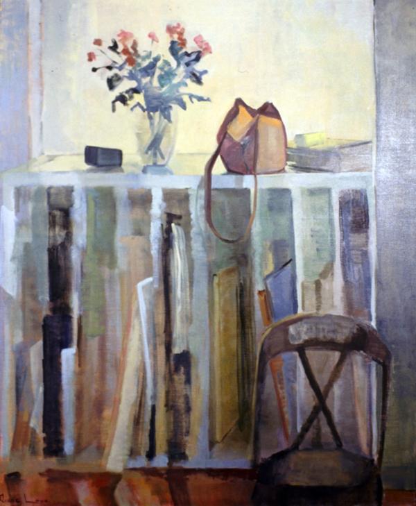 LIGHT PLAY- oil on canvas- 48 x 40 - 1992