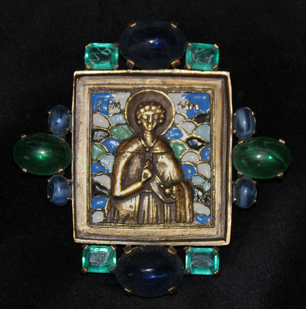 RUSSIAN ICON PIN-1970