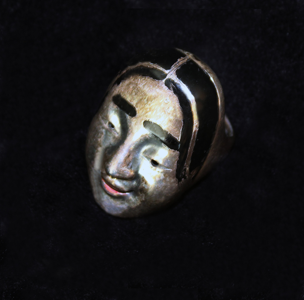 JAPANESE MASK RING-1970