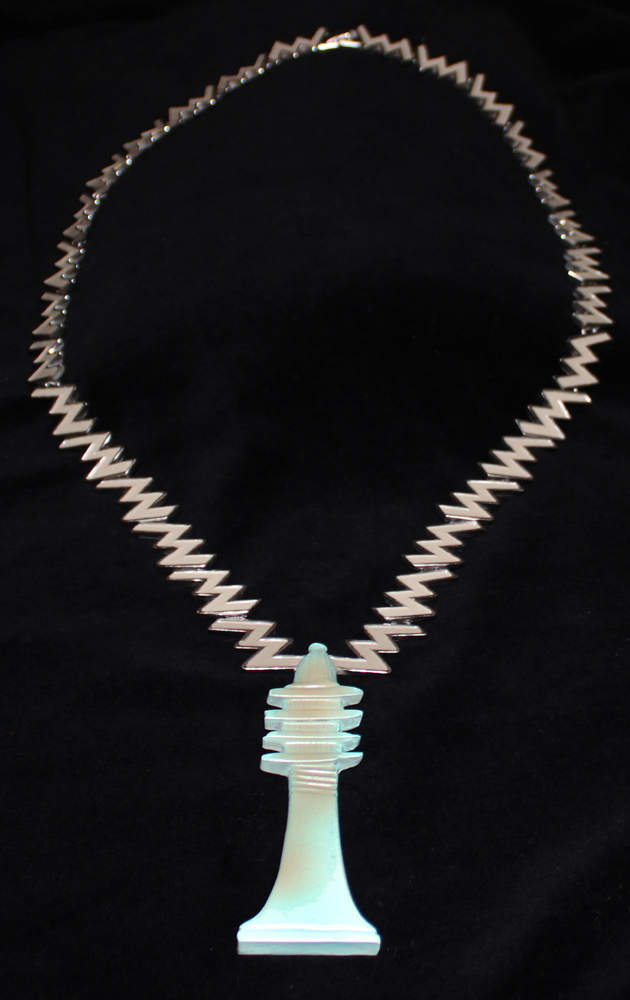 EGYPTIAN STELE NECKLACE-1972