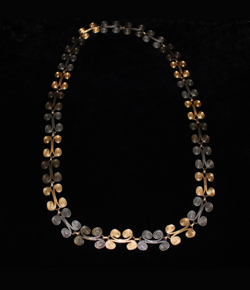 SCROLL NECKLACE-1971