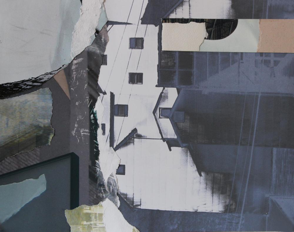 """#13 WASSAIC 10.50"""" x 14.50"""" August 2017"""