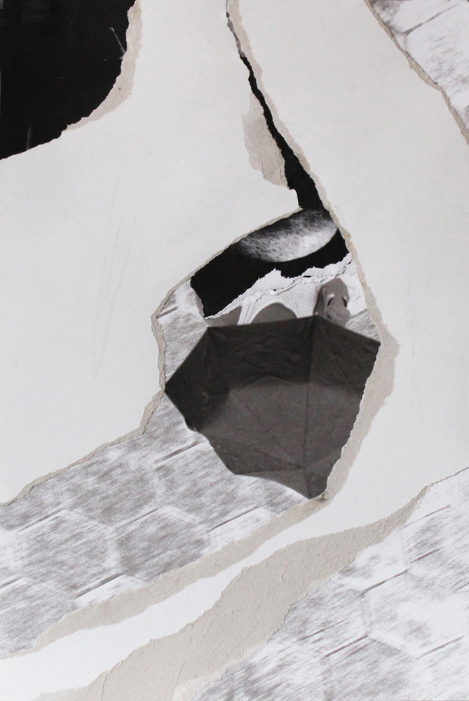 """#4 FRACTURED 17.75"""" x 12"""" July 2017"""